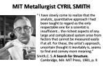 mit metallurgist cyril smith