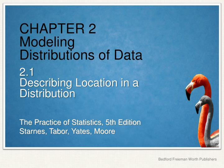 chapter 2 modeling distributions of data n.