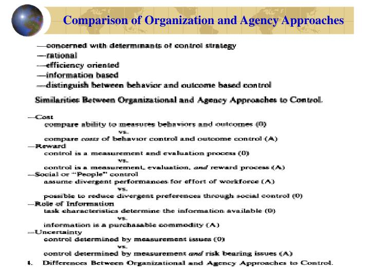 agency theory and accounting choice Morris r d 1987 signalling agency theory and accounting policy choice from bcom 127 at university of nairobi.