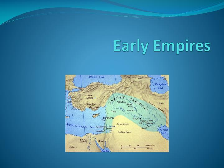 early empires n.