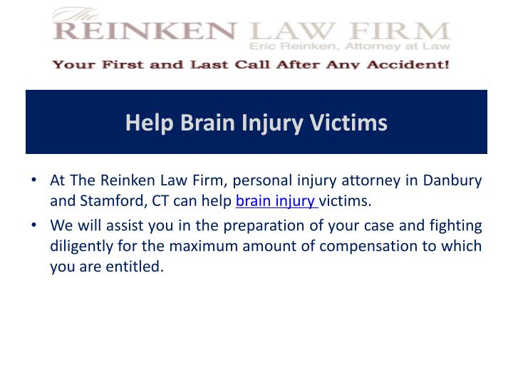Help Brain Injury Victims