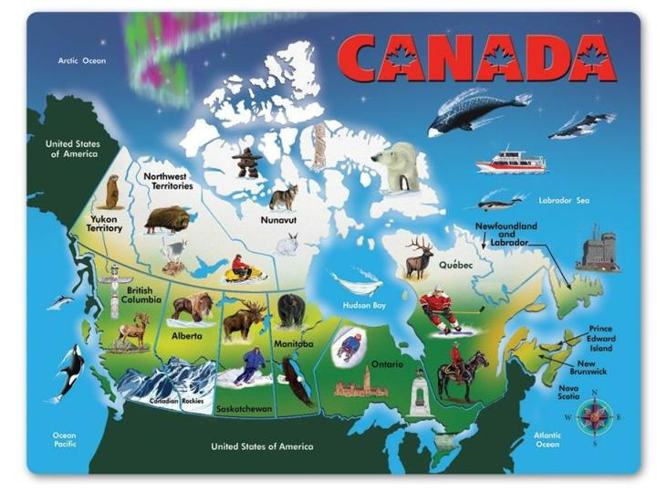 PPT - Canadian Geography PowerPoint Presentation, free ...