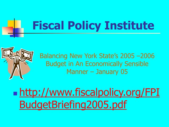 Fiscal Policy Institute