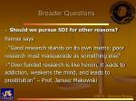 broader questions3