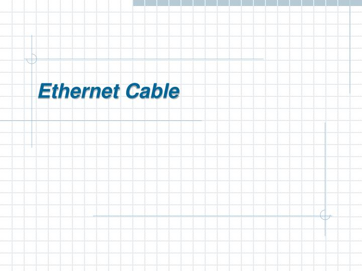 ethernet cable n.