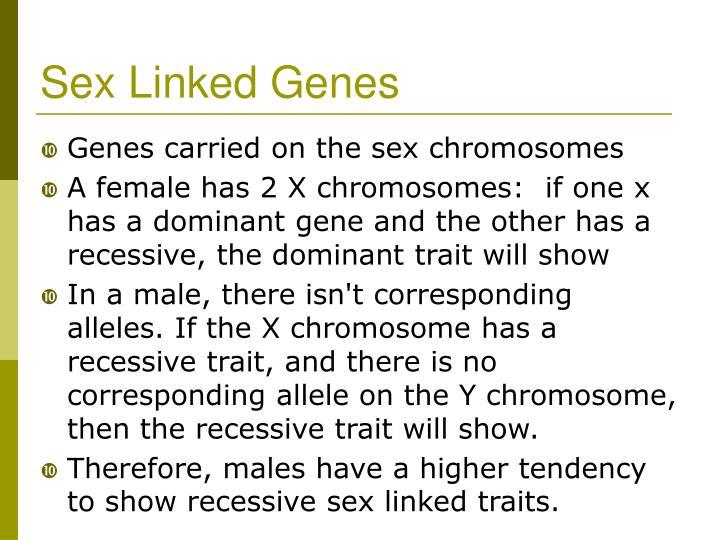 Sex Linked Genes