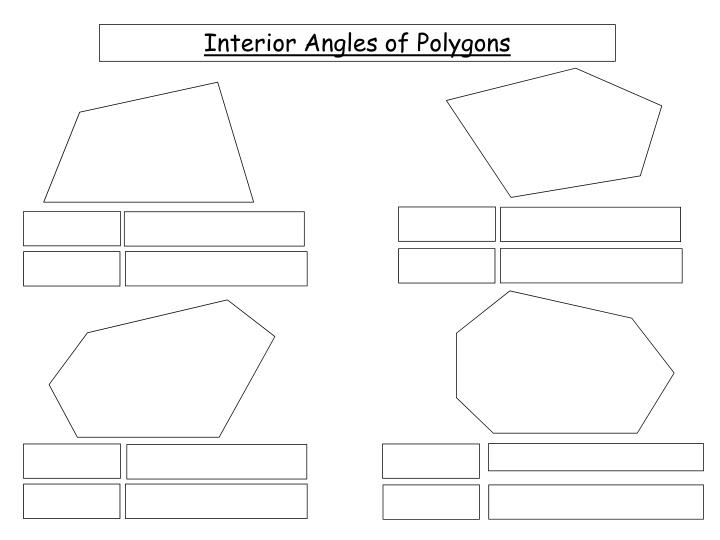 Ppt Interior Angles Of Polygons Powerpoint Presentation Id 5763345