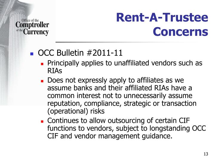 Rent-A-Trustee