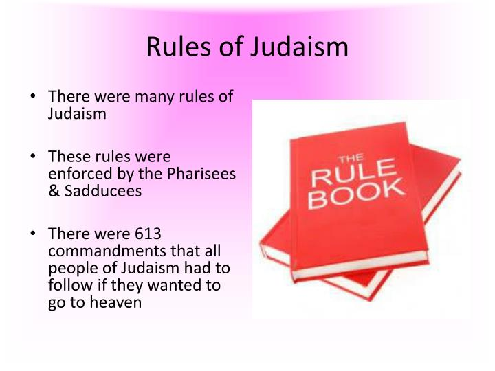 Rules of Judaism