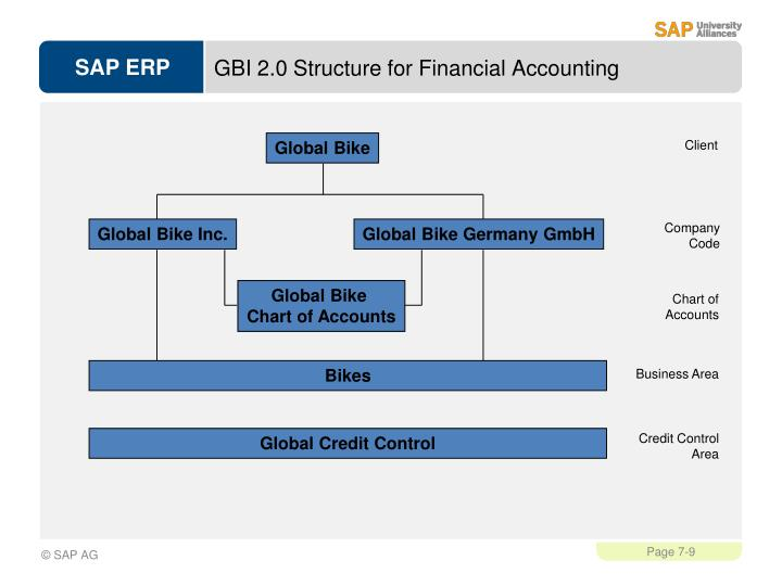 GBI 2.0 Structure for Financial Accounting