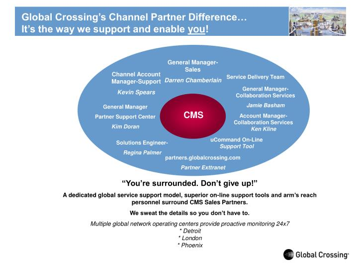 Global Crossing's Channel Partner Difference…