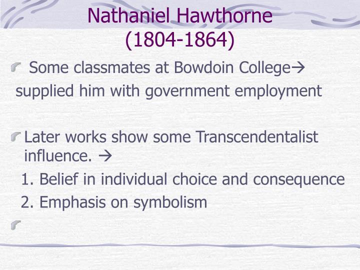 Nathaniel hawthorne 1804 1864