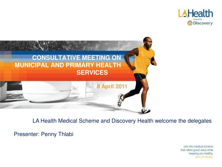consultative meeting on municipal and primary health services n.