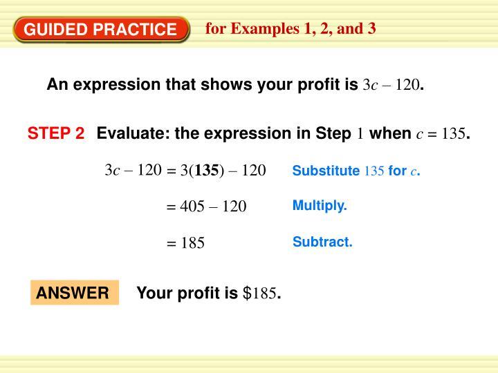 Your profit is