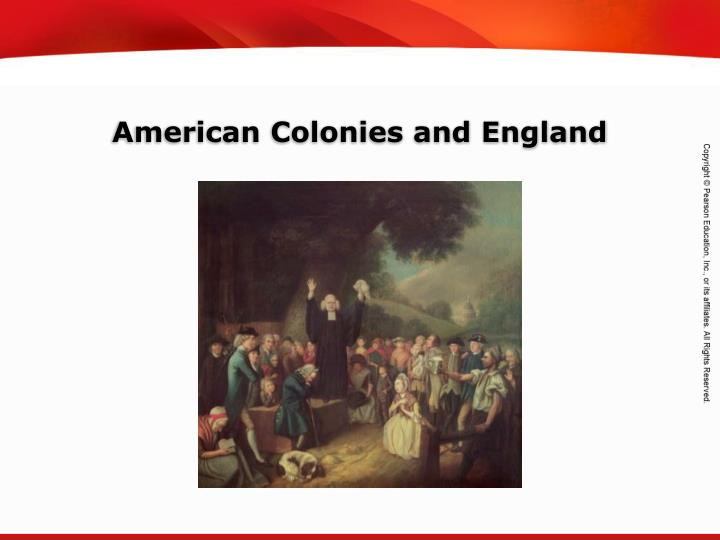 american colonies and england n.