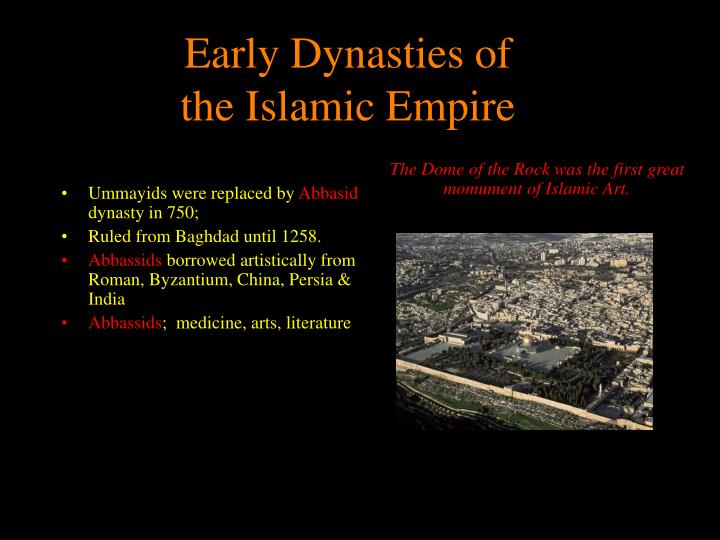 Early Dynasties of
