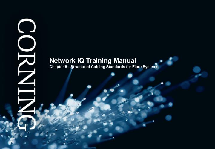 PPT Network IQ Training Manual Chapter 5 Structured