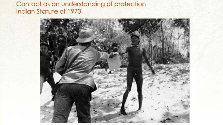 Contact as an understanding of protection