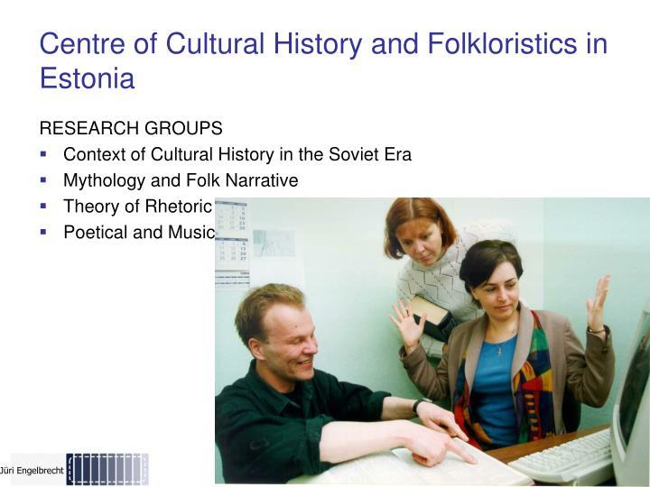 Centre of Cultural History and Folkloristics in Estonia