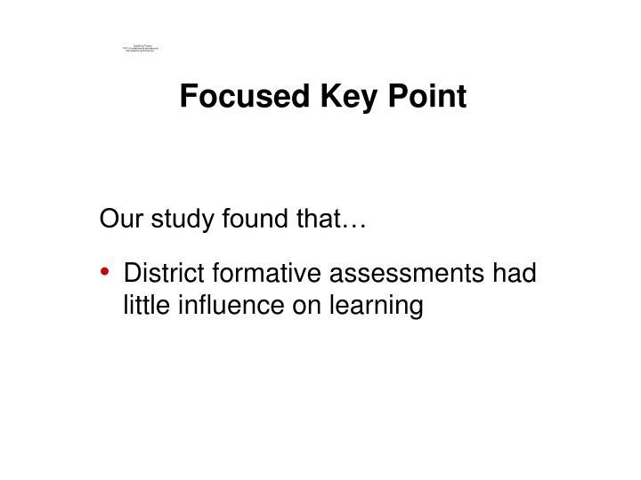 Focused Key Point