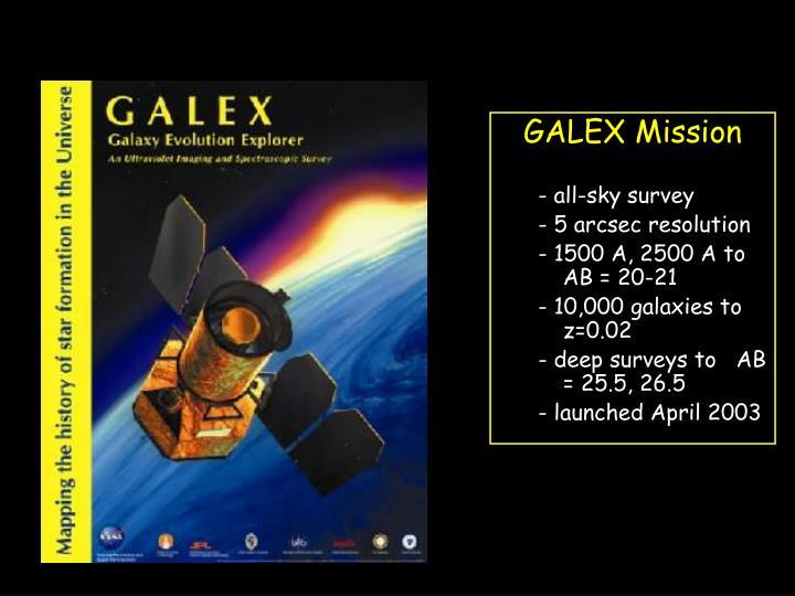 GALEX Mission