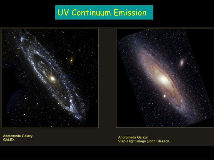 UV Continuum Emission