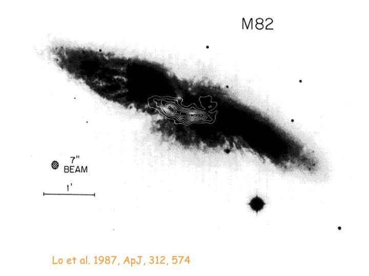 Lo et al. 1987, ApJ, 312, 574