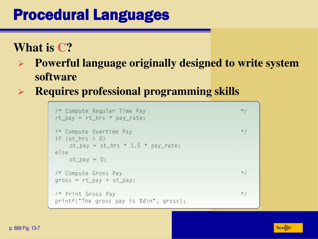 PPT - Chapter 13 Programming Languages and Program
