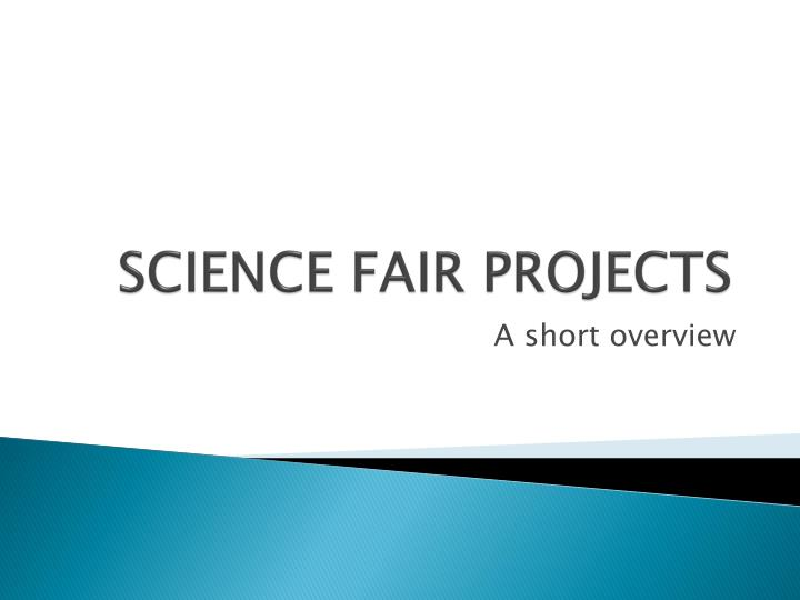 science fair projects n.