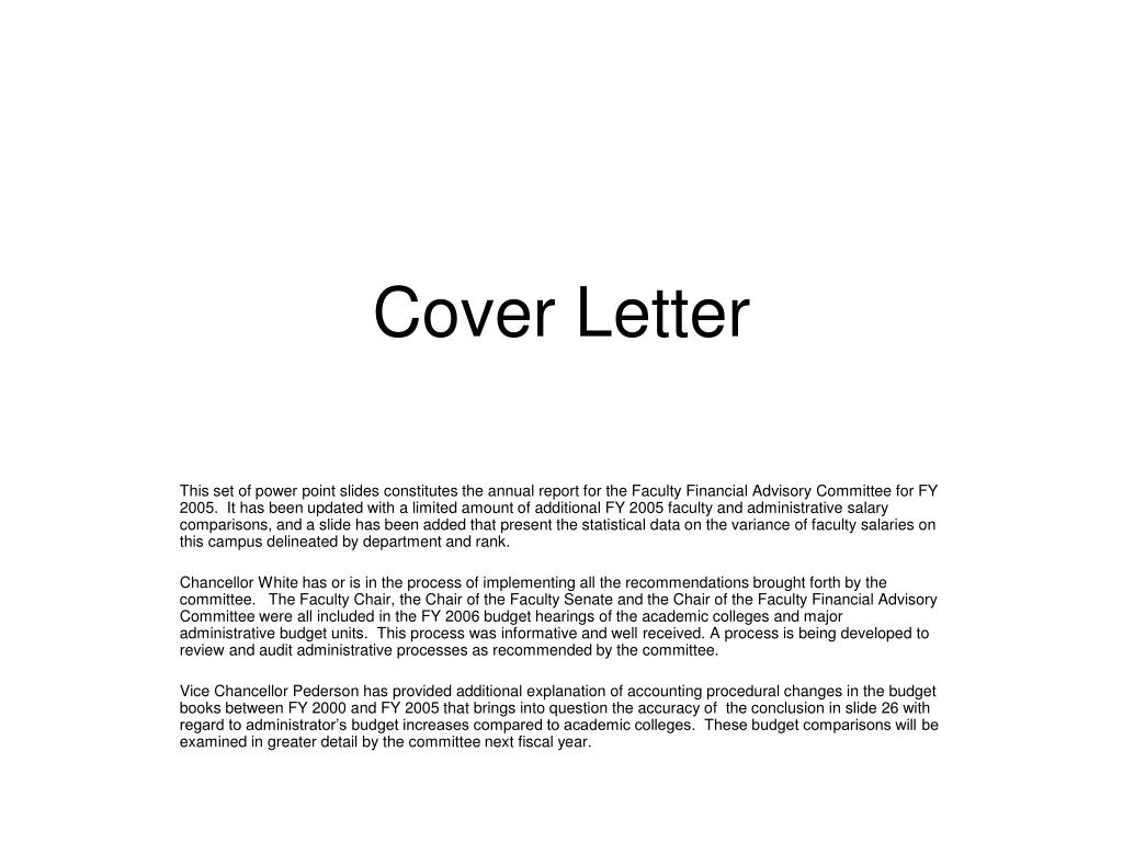 Faculty Application Cover Letter from image3.slideserve.com