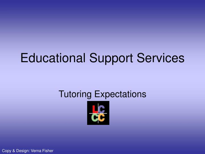 educational support services n.