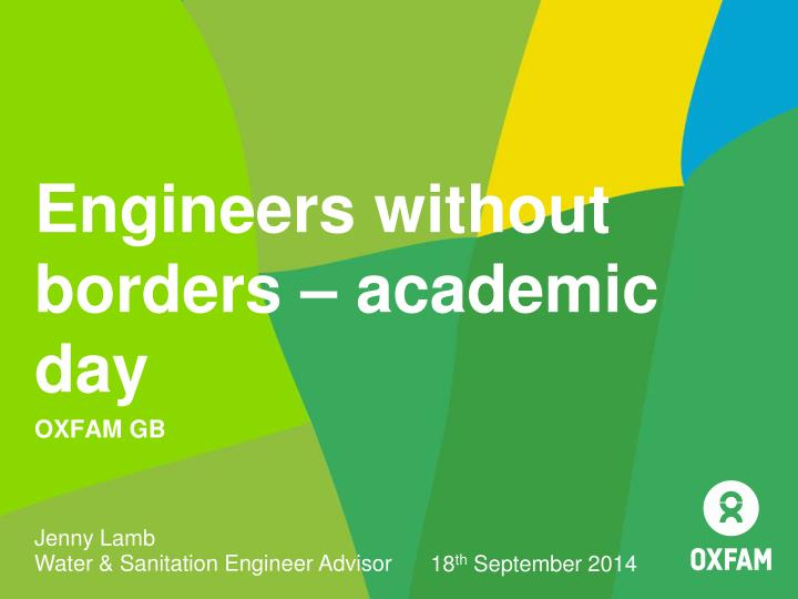 engineers without borders academic day n.