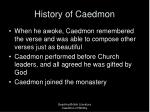 history of caedmon3