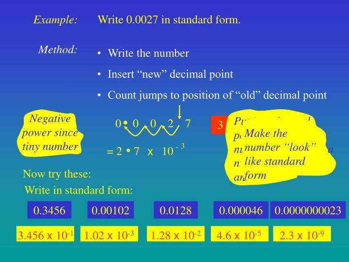 Ppt Standard Form Powerpoint Presentation Id5765181