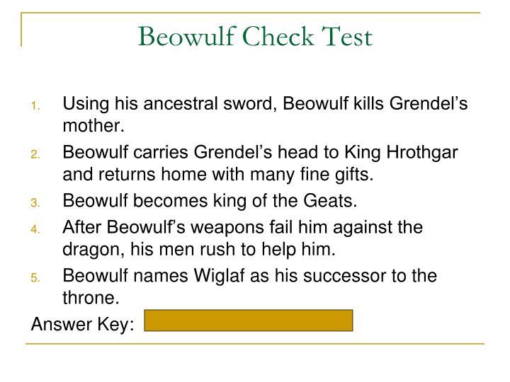 resolution of beowulf