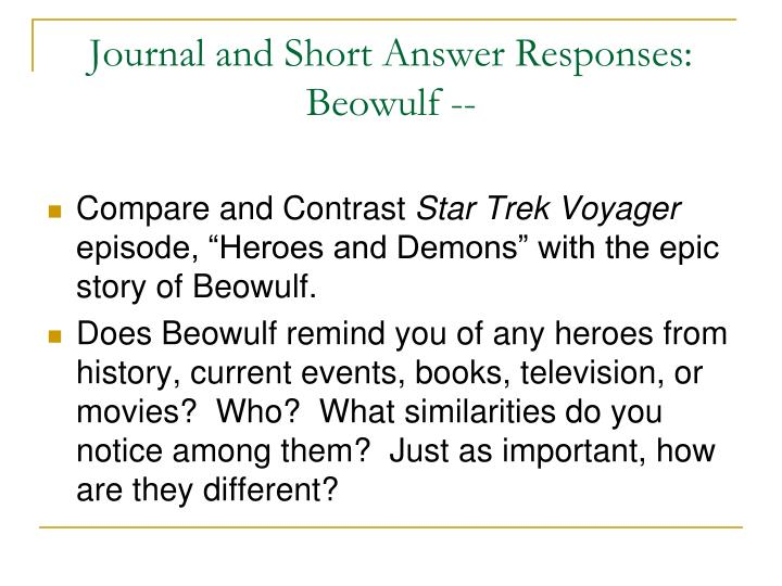 good vs evil examples in beowulf