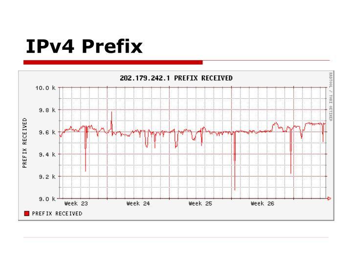 IPv4 Prefix