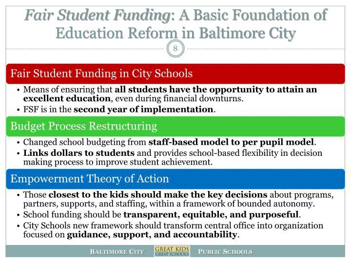 Fair Student Funding