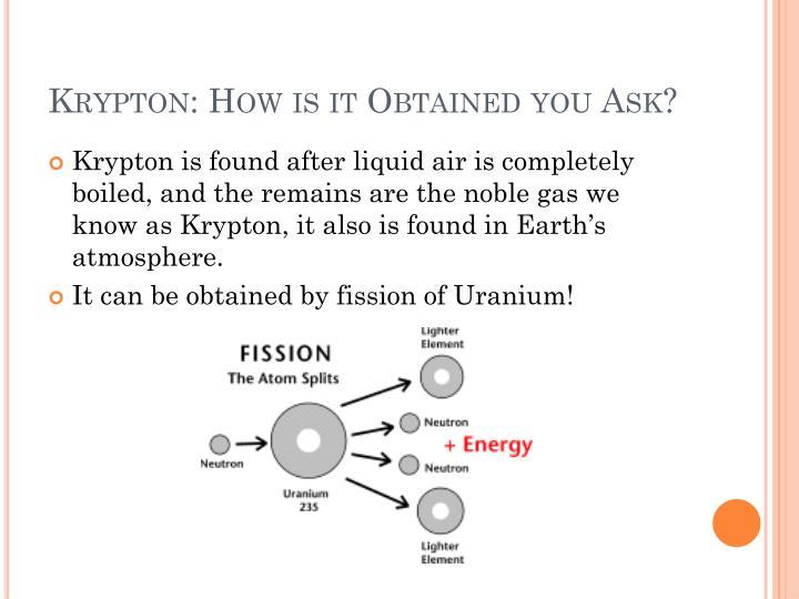 Ppt Krypton Powerpoint Presentation Id5765489