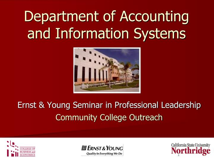 department of accounting and information systems n.