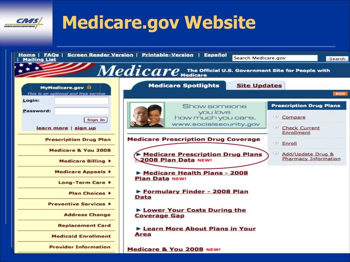 Ppt Goals Of Medicare Plan Ratings Powerpoint