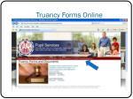 truancy forms online