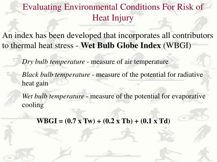 Evaluating Environmental Conditions For Risk of