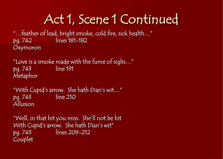 romeo and juliet act 3 scene 1 literary devices