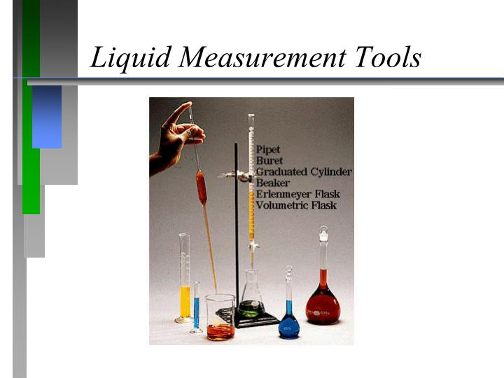 Liquid Measurement Tools