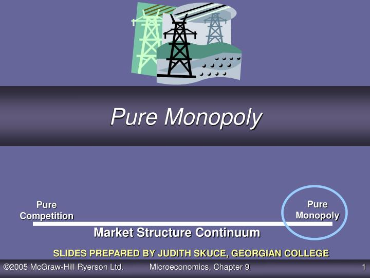 pure monopoly n.