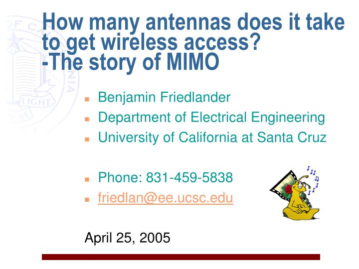 how many antennas does it take to get wireless access the story of mimo n.