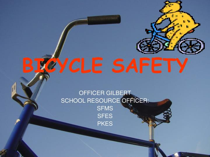 bicycle safety n.