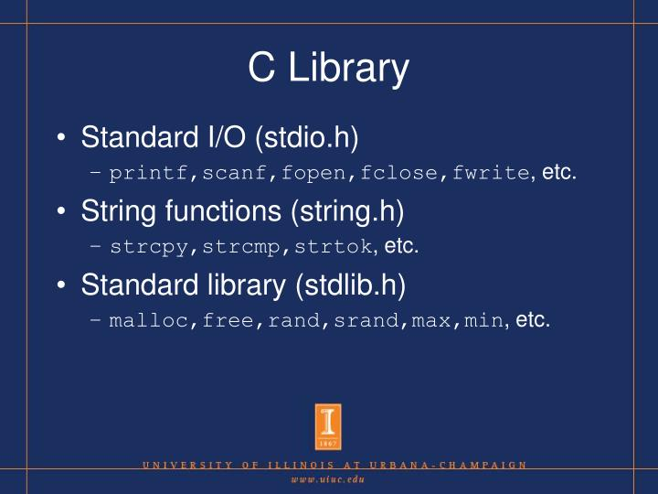 C Library