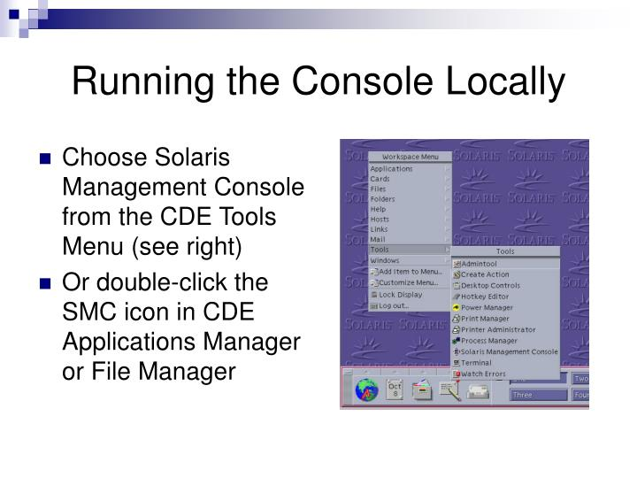 Running the Console Locally